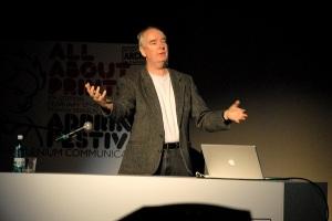 Patrick Collister, fondator Creative Matters | AdPrint 2009