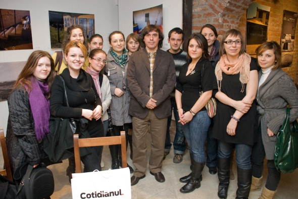 Mircea Cartarescu si ASJC, fotografie de Andrei Ionita