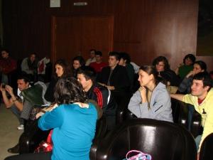 Studentii participanti la conferinta